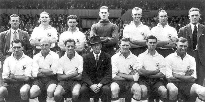 1947/48 Tottenham team